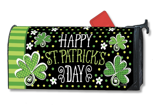 St. Pat's Mailbox Cover