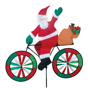 Santa on a Bike Spinner