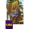 LSU SUEDE DOUBLE-SIDED FLAG Thumbnail
