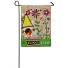 GOOD LIFE BURLAP GARDEN FLAG Thumbnail
