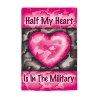 HALF MY HEART GARDEN FLAG Thumbnail