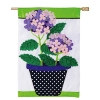 HYDRANGEA BEAUTY APPLIQUE FLAG Thumbnail