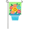 FLOWER POT GARDEN APPLIQUE FLA Thumbnail