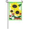 SUNFLOWERS GARDEN APPLIQUE Thumbnail