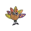COLORFUL TURKEY DOOR HANGER Thumbnail