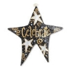 BLACK & GOLD LIT STAR DOOR  Thumbnail