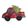 LIT RED TRUCK W/TREE DOOR Thumbnail