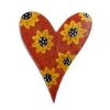 HEART WITH SUNFLOWERS HANGER Thumbnail