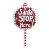 LIT SANTA STOP HERE SIGN Thumbnail