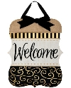 BURLAP WELCOME DOOR DECOR Thumbnail