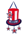 AMERICAN WELCOME DOOR DECOR Thumbnail