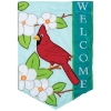 CARDINAL WELCOME APPLIQUE GF Thumbnail