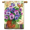 PRETTY PANSIES FLAG Thumbnail
