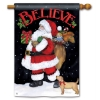 BELIEVE IN SANTA FLAG Thumbnail