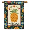 FLORAL PINEAPPLE FLAG Thumbnail