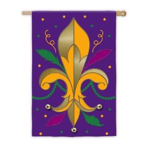 All Mardi Gras flags
