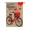 VALENTINE'S DAY BICYCLE FLAG Thumbnail