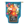 GARDEN FRIENDS BURLAP FLAG Thumbnail