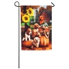 AUTUMN PUPPIES GARDEN FLAG Thumbnail