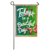 BEAUTIFUL DAY GARDEN FLAG Thumbnail