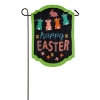 HAPPY EASTER CHALKBOARD BURLAP Thumbnail