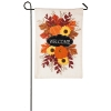 FALL FLORAL WELCOME BURLAP GF Thumbnail