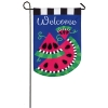 WATERMELON WELOME GARDEN FLAG Thumbnail