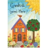 GRANDKIDS LOVED HERE GARDEN FLAG Thumbnail