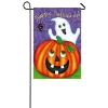 HAPPY GHOST SUEDE GARDEN FLAG Thumbnail