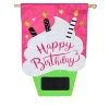 BIRTHDAY CUPCAKE APPLIQUE FLAG Thumbnail