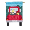 RED TRUCK WELCOME APPLIQUE FLA Thumbnail