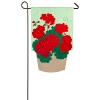 GERANIUM BASKET MINI FLAG Thumbnail