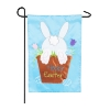EASTER BUNNY GARDEN APPLIQUE F Thumbnail