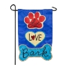 LIVE LOVE BARK GARDEN FLAG Thumbnail