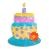 LIT BIRTHDAY CAKE DOOR HANGER Thumbnail