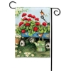 GERANIUMS BY THE DOZEN GARDEN FLAG Thumbnail