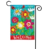 WELCOME BLOOMS GARDEN FLAG Thumbnail