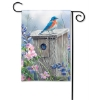 BLUEBIRD LOOKOUT GARDEN FLAG Thumbnail