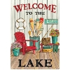 WELCOME TO THE LAKE LG FLAG Thumbnail