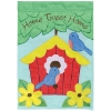 HOME TWEET HOME GARDEN FLAG Thumbnail