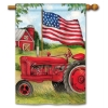 PATRIOTIC TRACTOR FLAG Thumbnail
